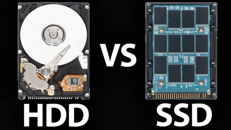 متفاوت SSD و HDD